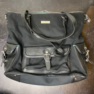 Lily Jade Meggan Canvas Diaper Bag